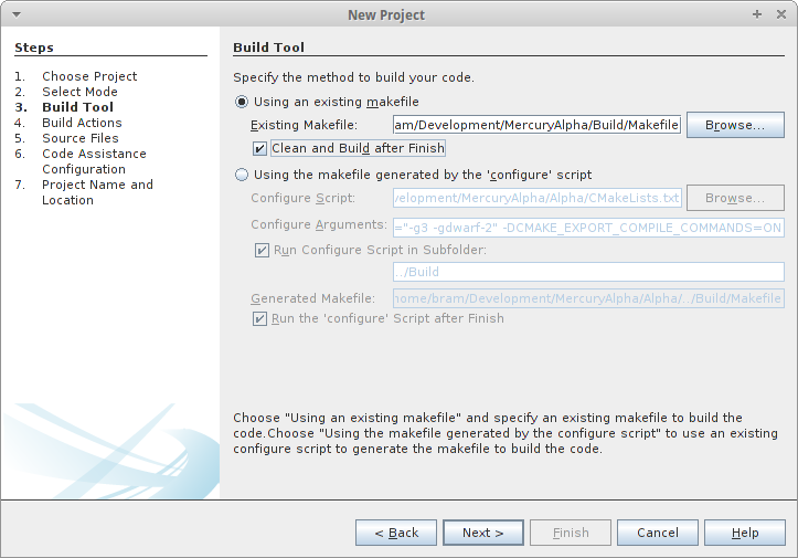 MercuryDPM: Set up Netbeans editor to compile Mercury DPM